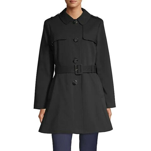 Kate Spade Belted Cotton-Blend Trench Coach